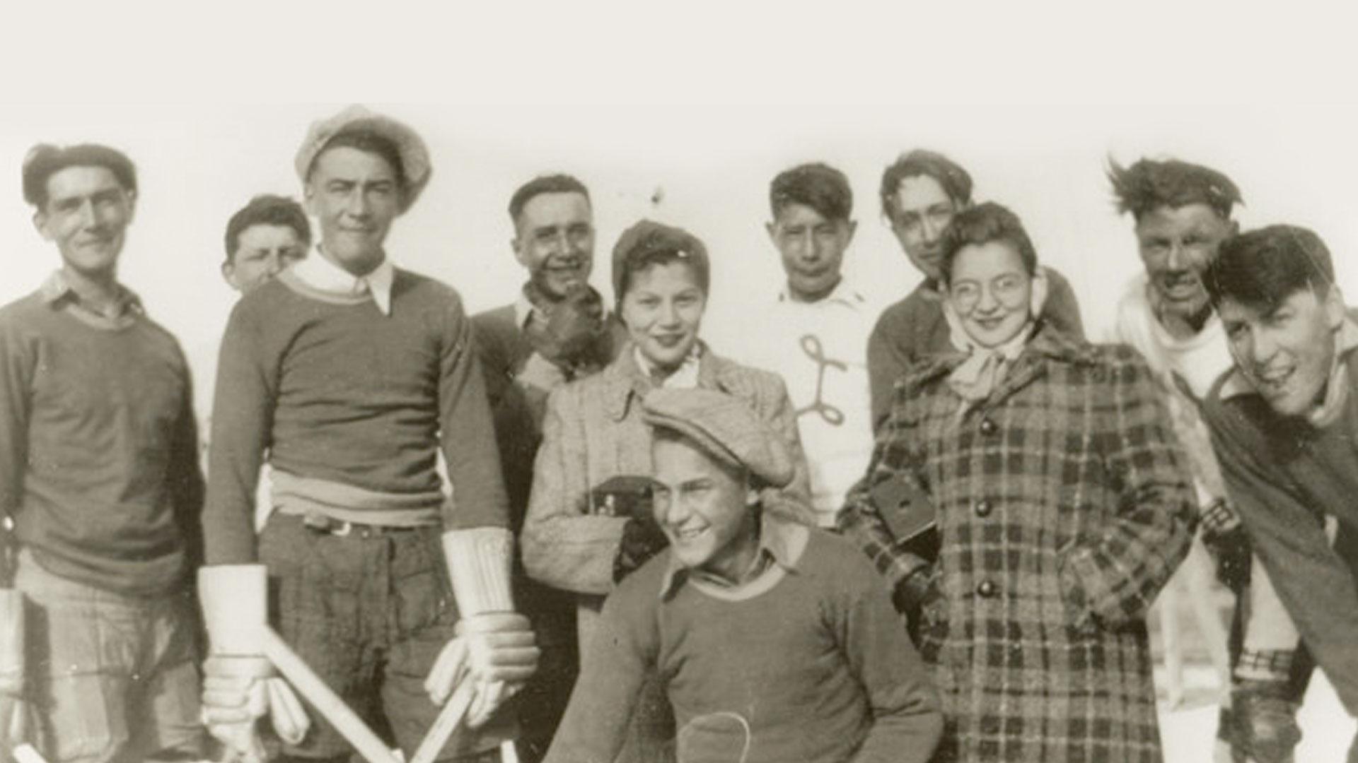muskeg lake cree nation hockey team